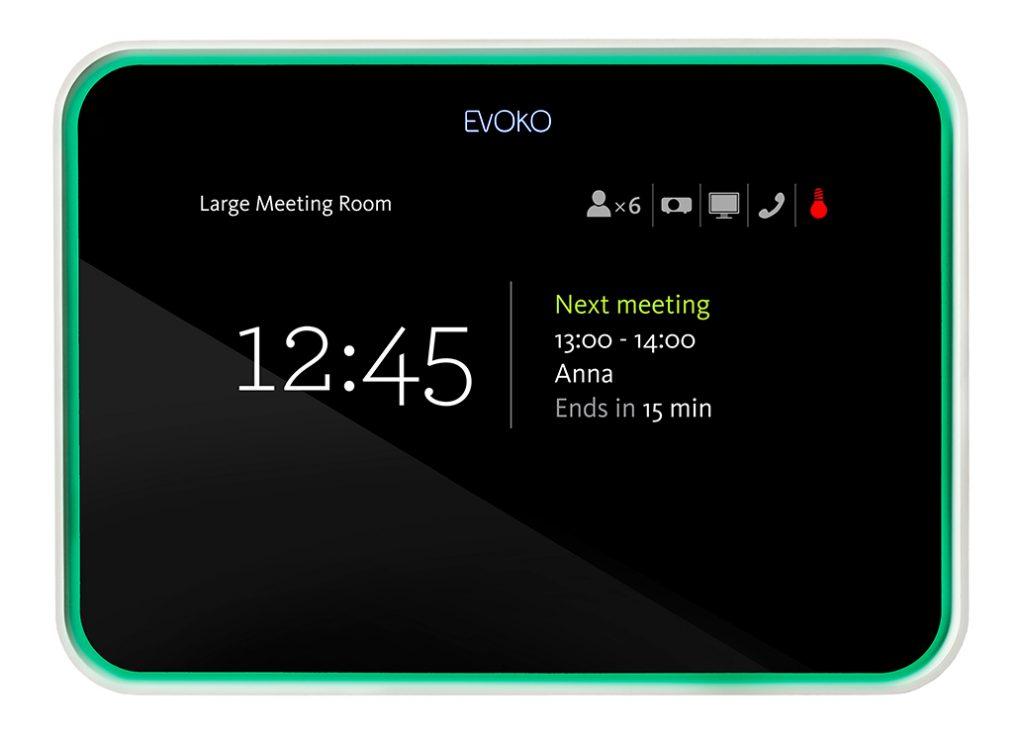 evoko room scheduling system