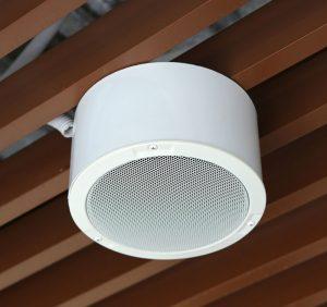 overhead speaker