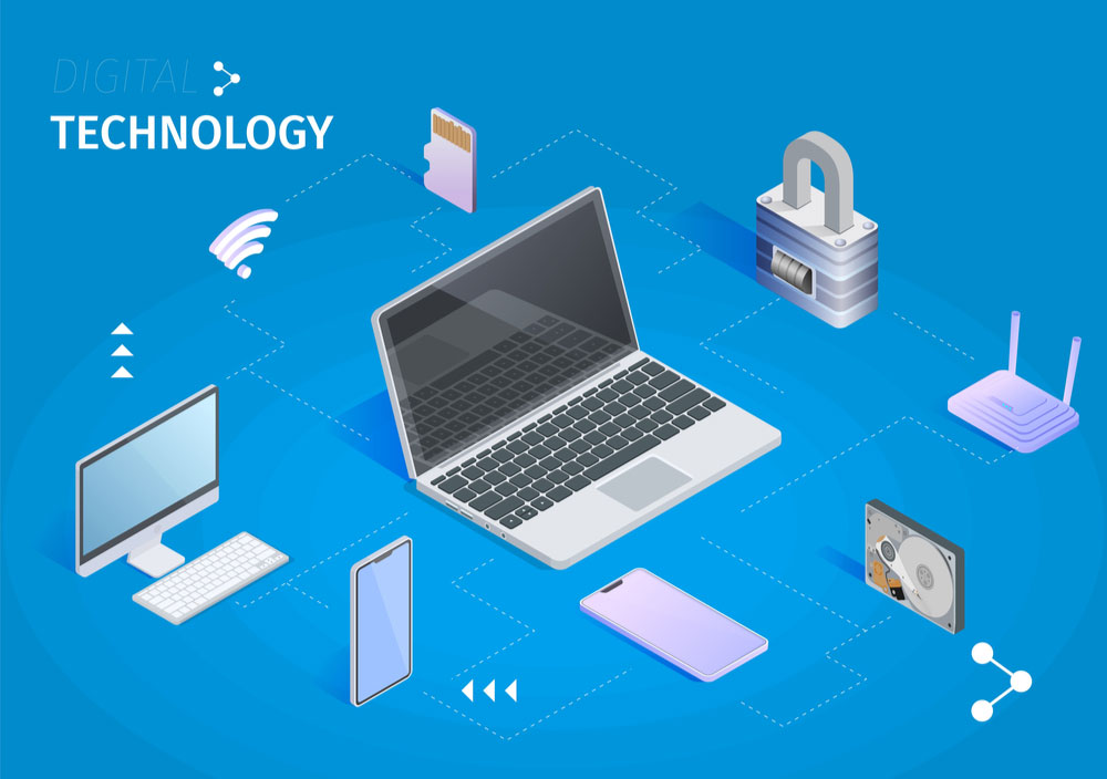 various facets of digital technology